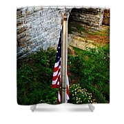 Flag Day Shower Curtain
