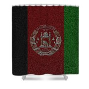 Flag Of Afghanistan Shower Curtain