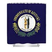 Flag Of Kentucky Wall Shower Curtain