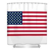 Flag1 Shower Curtain