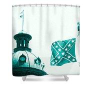 Flag8320sd5143grain Shower Curtain