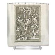 Flagellation Of A Saint Shower Curtain