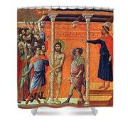 Flagellation Of Christ 1311 Shower Curtain