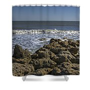 Flagler Beach 3 Shower Curtain