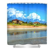 Flagler Beach Morning Shower Curtain
