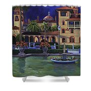 Flagler College II Shower Curtain