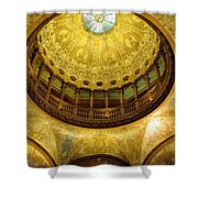 Flagler College Rotunda II Shower Curtain