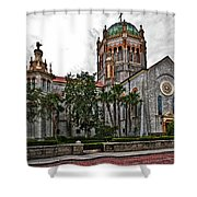 Flagler Memorial Presbyterian Church 2 Shower Curtain