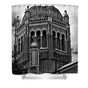 Flagler Memorial Presbyterian Church 3  B-w Shower Curtain