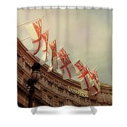 Flags Of London Shower Curtain