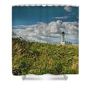 Flamborough Lighthouse, North Yorkshire. Shower Curtain