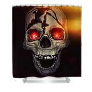Flame Eyes Shower Curtain