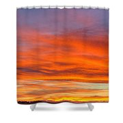 Flame On In Widescape Shower Curtain
