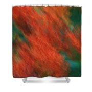 Flame Thrower Shower Curtain