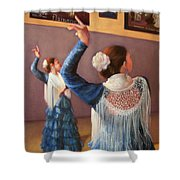 Flamenco 7 Shower Curtain