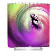 Flamenco Dance Art 675y Shower Curtain