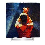 Flamenco Dolores Shower Curtain