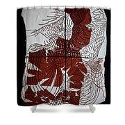 Flamenco Lady 4 Shower Curtain