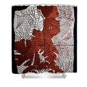 Flamenco Lady Two Shower Curtain
