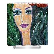 Flamenco Nights - Madalena Shower Curtain