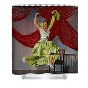 Flamenco Show Nr 2 Shower Curtain