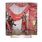 Flamenco Show Nr 4 Shower Curtain