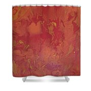 Flames 1 Shower Curtain