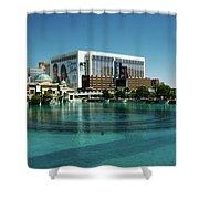 Flamingo Casino/hotel Shower Curtain