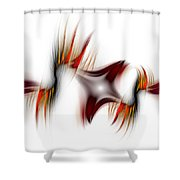 Flamme Flamme Shower Curtain