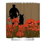 Flanders Fields 11 Shower Curtain