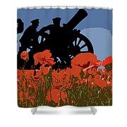 Flanders Fields 4 Shower Curtain