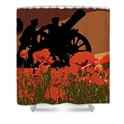 Flanders Fields 1 Shower Curtain