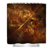 Flare Shower Curtain