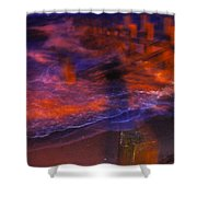 Flash Of Confusion Shower Curtain