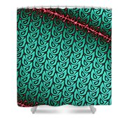 Flash Of Wit Shower Curtain