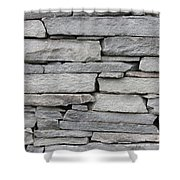 Flat Stack Shower Curtain