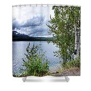 Flathead Lake 5 Shower Curtain