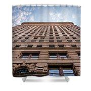 Flatiron Building Sky Color Shower Curtain