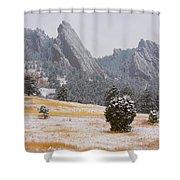 Flatiron Meadows - Boulder Colorado Shower Curtain