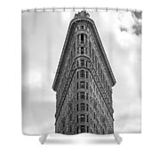 Flatiron Skies Shower Curtain
