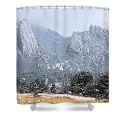 Flatirons Shower Curtain