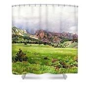 Flatirons Vista Shower Curtain