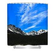 Flats Tops Shower Curtain