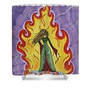 Fleams  Shower Curtain