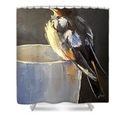 Fledgling Shower Curtain