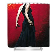 Flemenco Arrogancia Shower Curtain