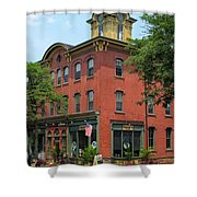 Flemington Main Street Shower Curtain