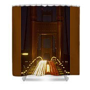 Flesh And Blood Shower Curtain