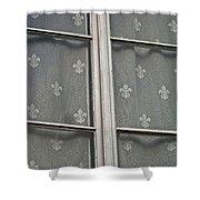 Fleur-de-lis Shower Curtain