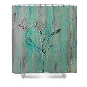 Fleur De Sage Shower Curtain